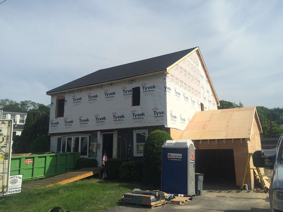 dormers and additions